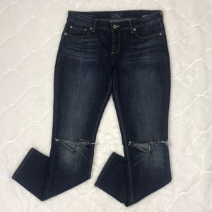 Lucky Brand Lolita Skinny w/Busted Knees 6/28